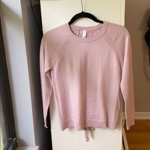 Lulu lemon pink long sleeve